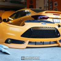 Fitting a Focus ST Bumper on a Non-ST