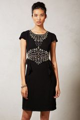 Anthropologie. Cameo Peplum Dress.