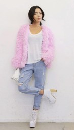 Style Nanda. http://en.stylenanda.com/product/Pastel-Colored-Fur-Jacket/SFSELFAA0029605/?main_cate_no=AD000000&display_group=1