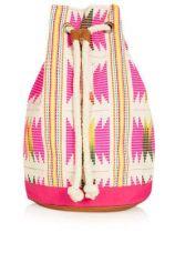Topshop. Flouro Woven Duffle Backpack. $15 http://us.topshop.com/en/tsus/product/sale-offers-70842/sale-70857/extra-50-off-shoes-accessories-2750090/flouro-woven-duffle-backpack-2197846?refinements=category~%5b1637007%7c397549%5d&bi=1&ps=20
