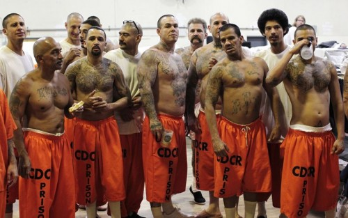 Why are prisoners so muscular