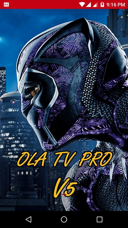Screenshot-Ola TV Pro