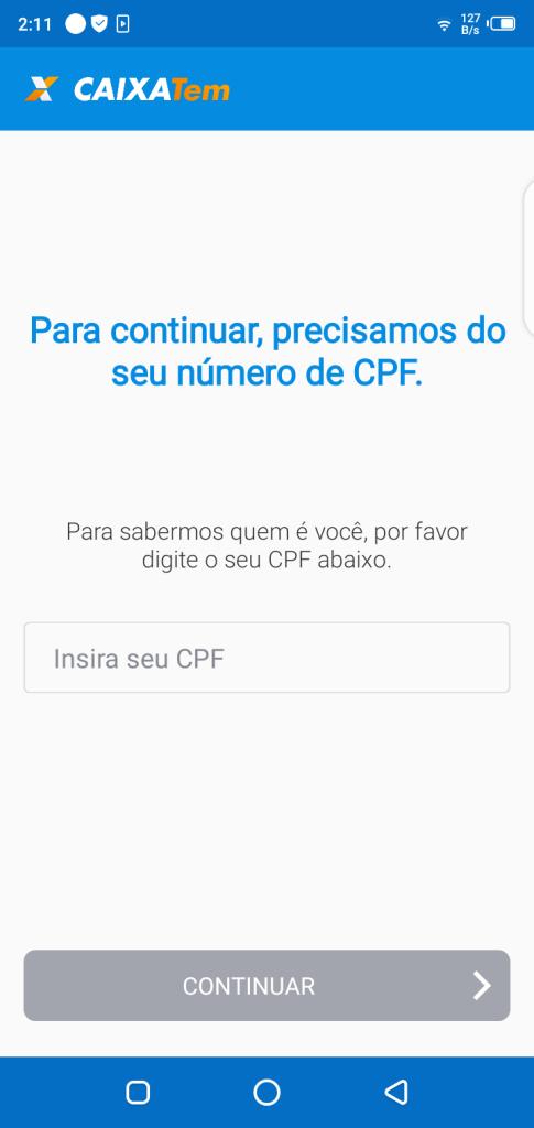 Screenshot Of Caixa TEM Apk