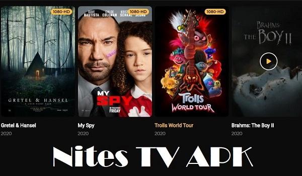 Screenshot of Nites TV Apk