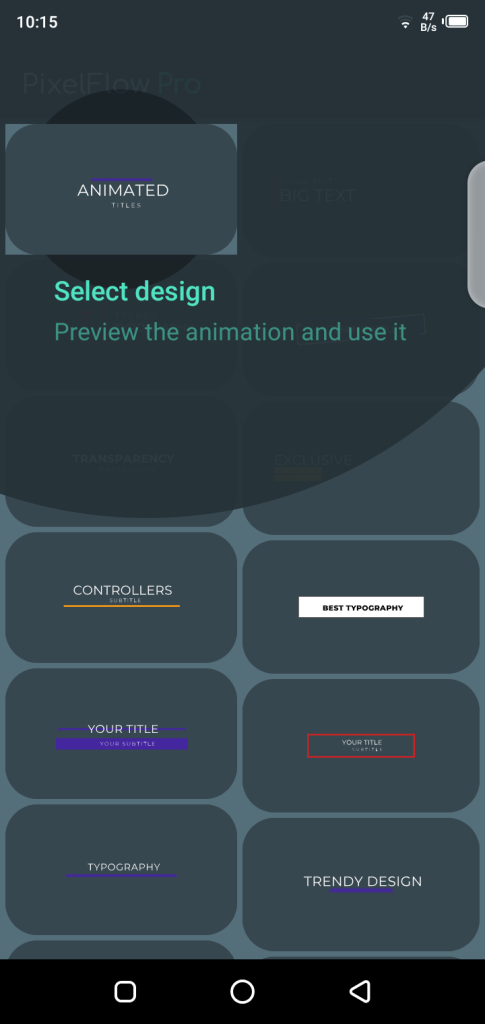Screenshot PixelFlow Pro Apk For Android