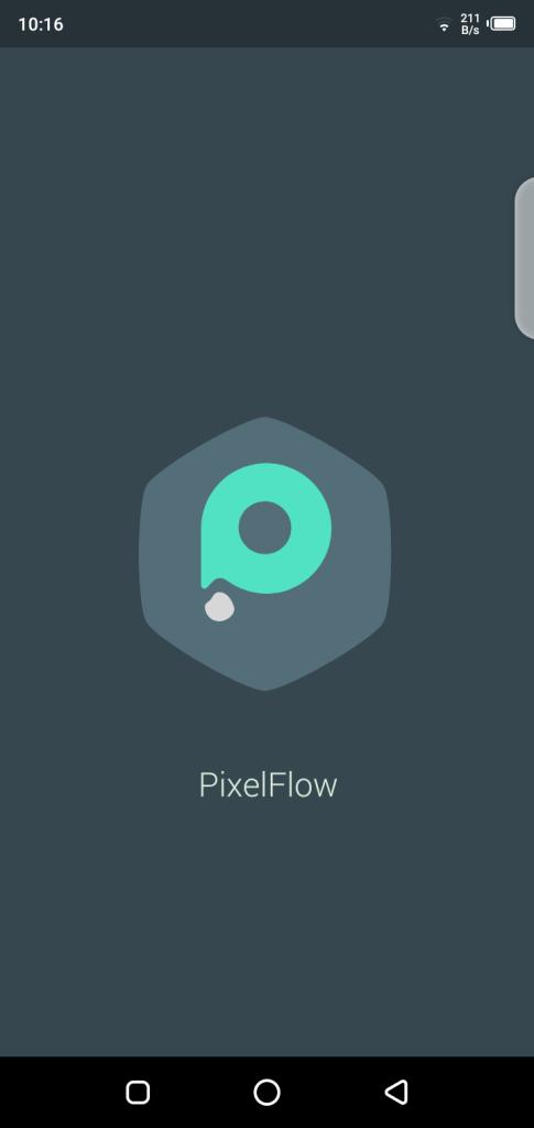 Screenshot PixelFlow Pro App