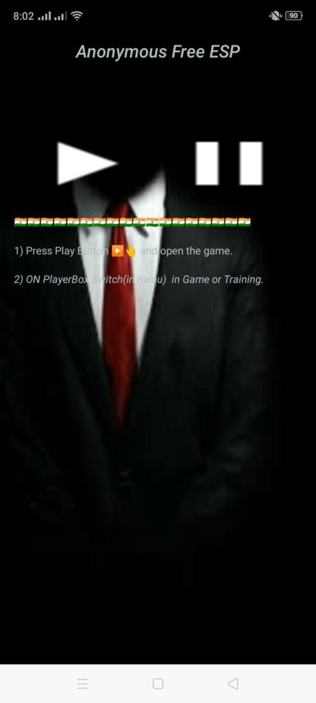 Screenshot of ESP Hack PUBG