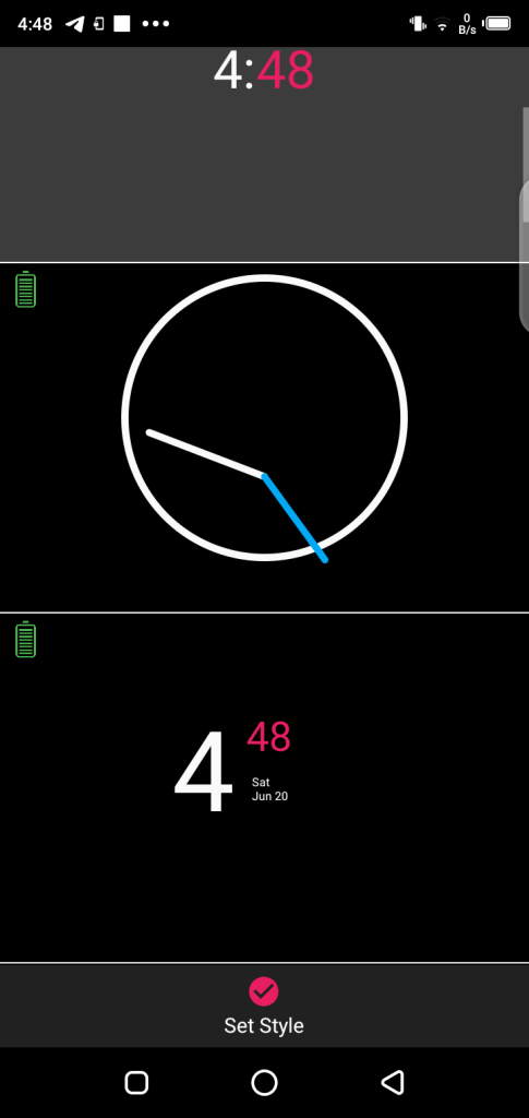 Screenshot of Always On Amoled Pro For Android
