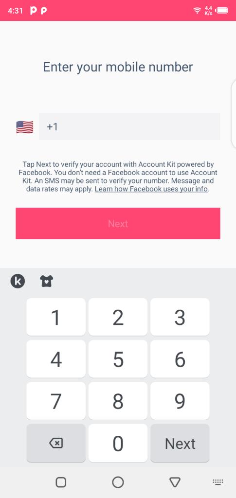 Screenshot of StarMaker Mod App