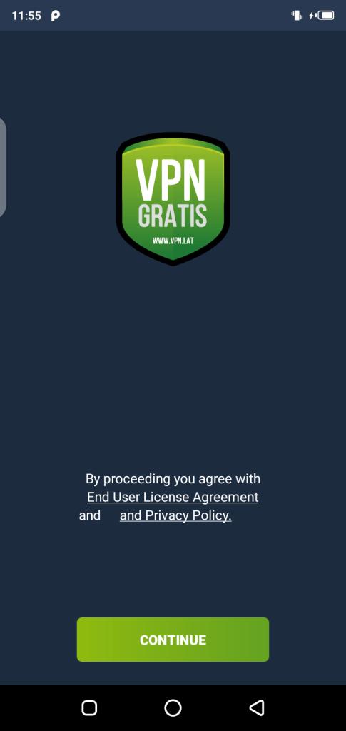 Screenshot of VPN.LAT