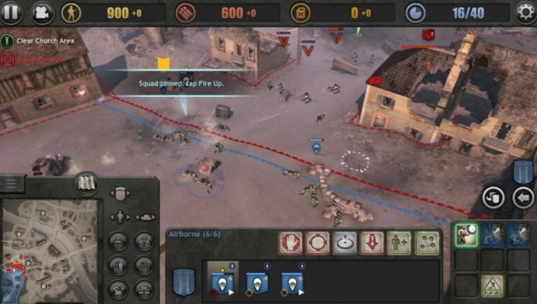 Screenshot of Company of Heroes Apk