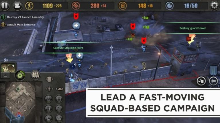 Screenshot of Company of Heroes App