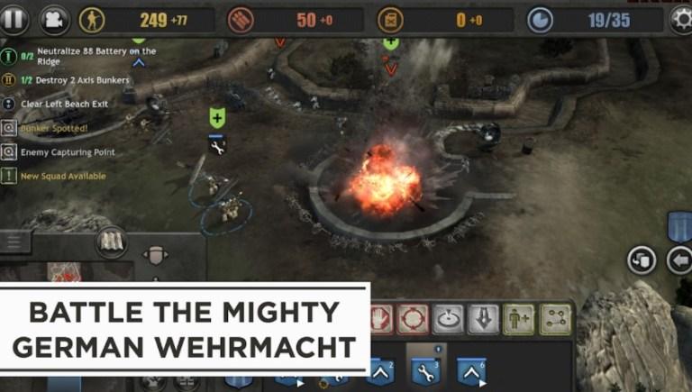 Screenshot of Company of Heroes