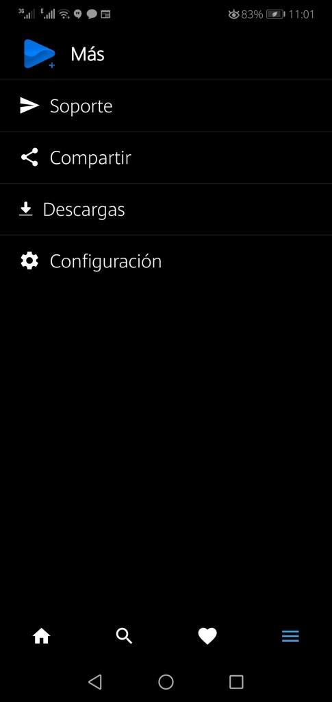 Screenshot of FA Plus App