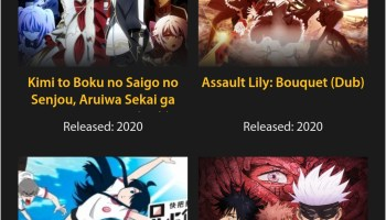 Screenshot of GoGoAnime.IO Apk