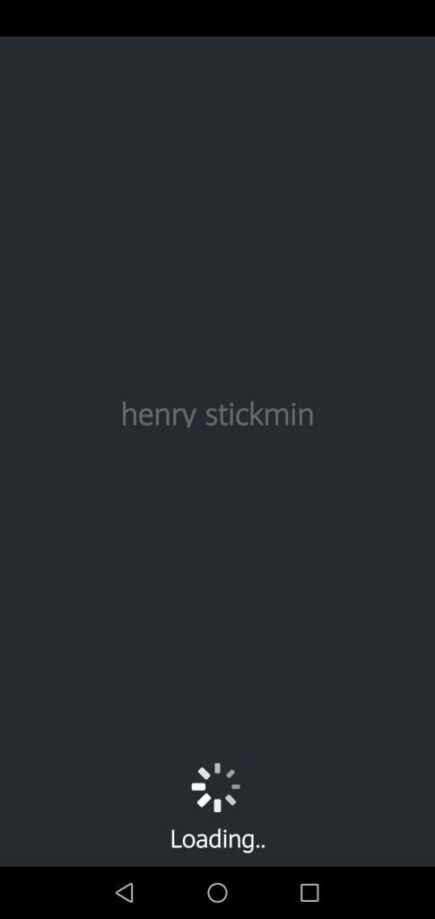 Screenshot of Henry Stickmin Collection App