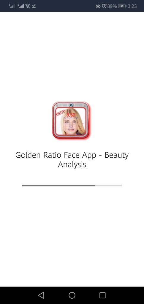 Screenshot of Perfect Face Ratio Apk