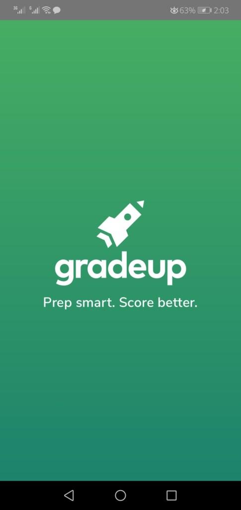 Screenshot of Gradeup App