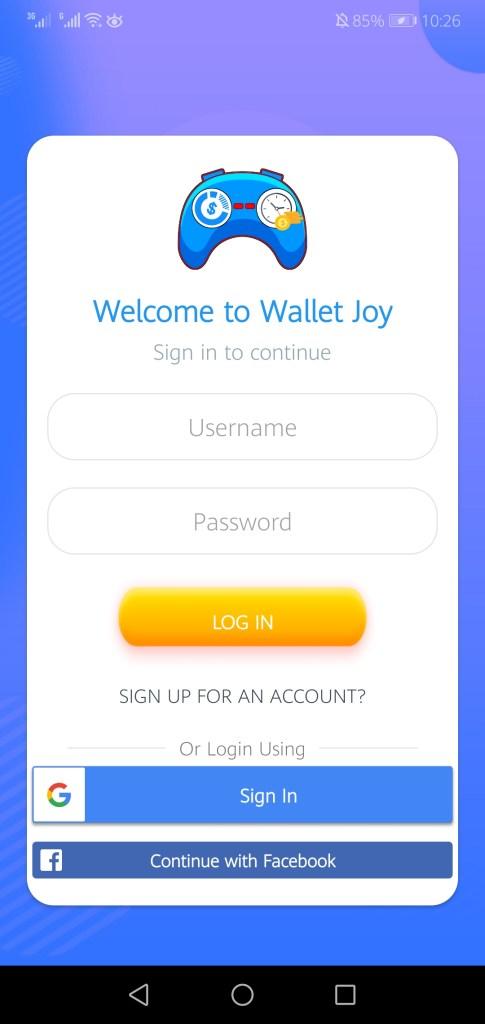 Screenshot of Wallet Joy Apk
