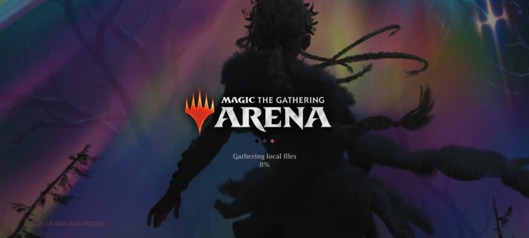 Screenshot of MTG Arena Mobile