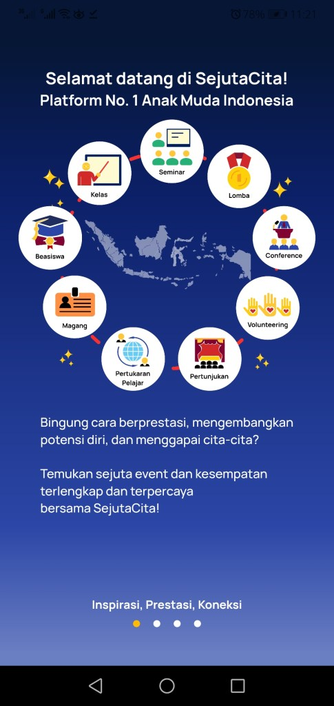 Screenshot of Sejuta Cita App Apk