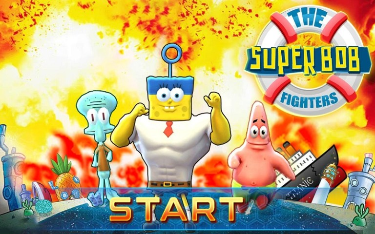 Screenshot of Spongebob Battle for Bikini Bottom Game