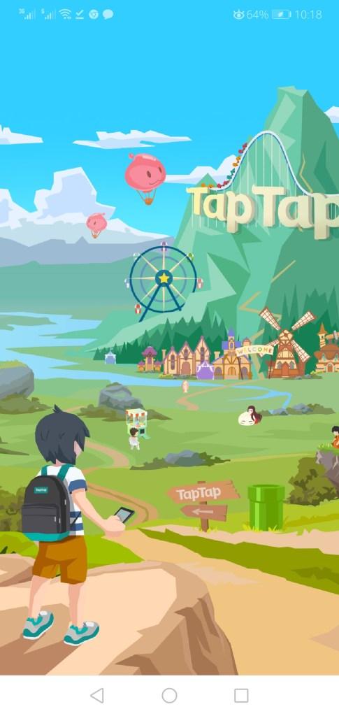 Screenshot of Tap Tap Global App