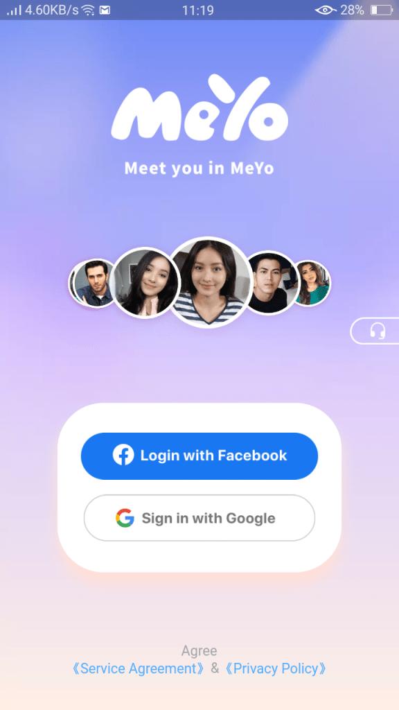 Screenshot of Meyo Apk