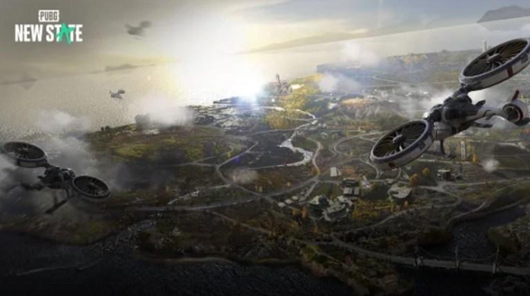 Screenshot of PUBG New State