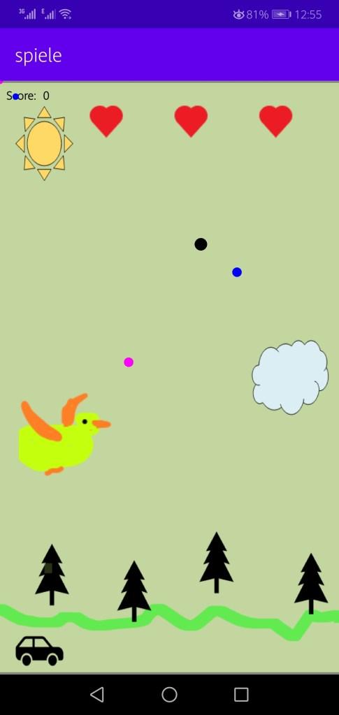 Screenshot of Spiele App Apk