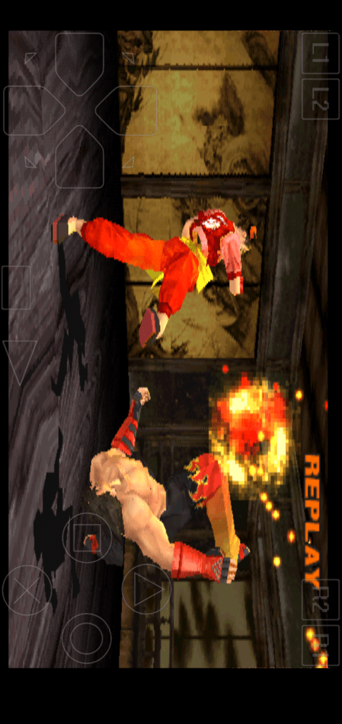 Screenshot of Tekken 3 For Android