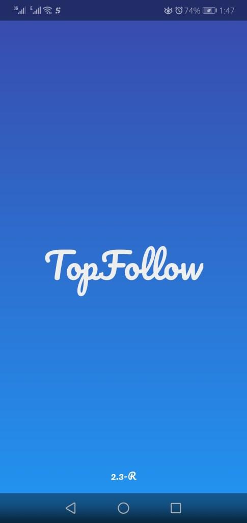 Screenshot of Top Follow Apk
