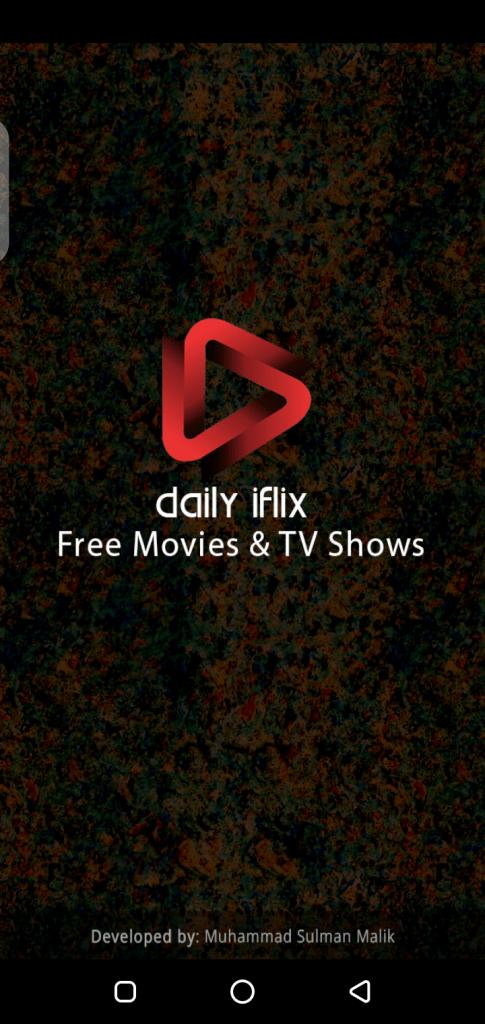 Screenshot of Daily Iflix