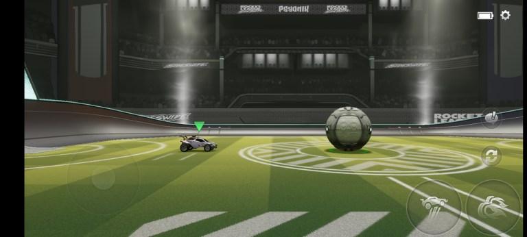 Screenshot of Rocket League Sideswipe Beta App