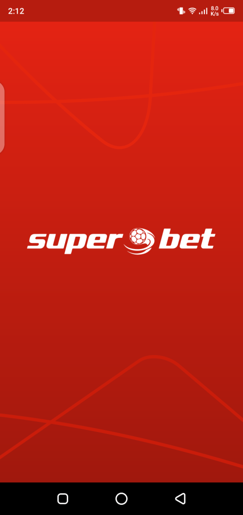 Screenshot of SuperBet