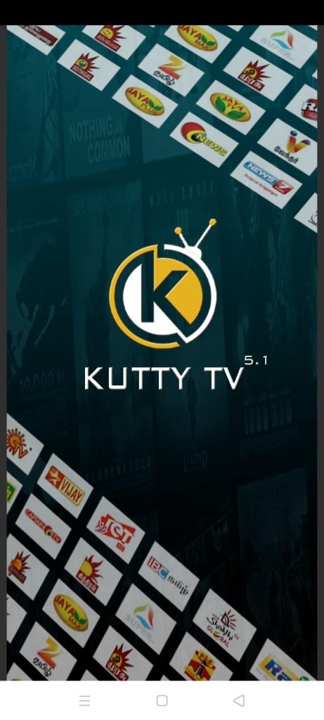 Sceeenshot of Kutty TV