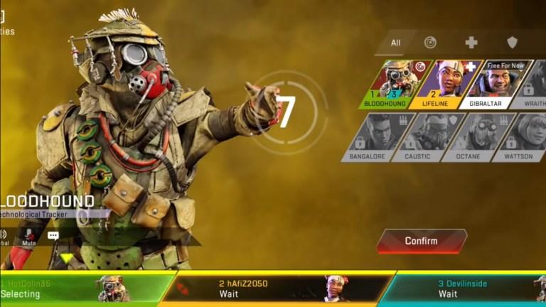 Screenshot of Apex Legends Mobile Beta App