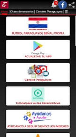 Screenshot of Futbol Paraguayo Apk