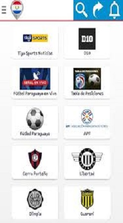 Screenshot of Futbol Paraguayo App