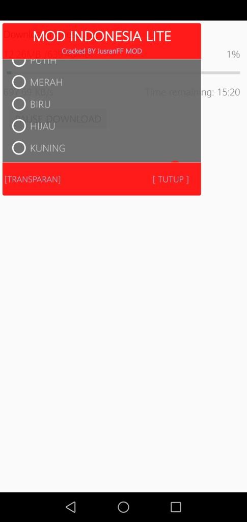 Screenshot of Hacker VIP FF App