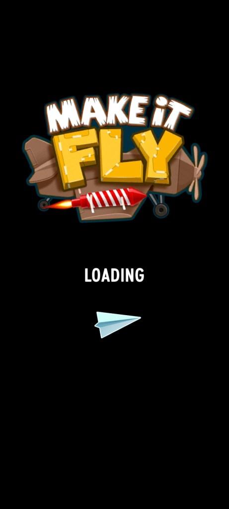 Screenshot of Make It Fly