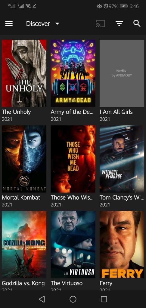 Screenshot of Netflix Pro Mod