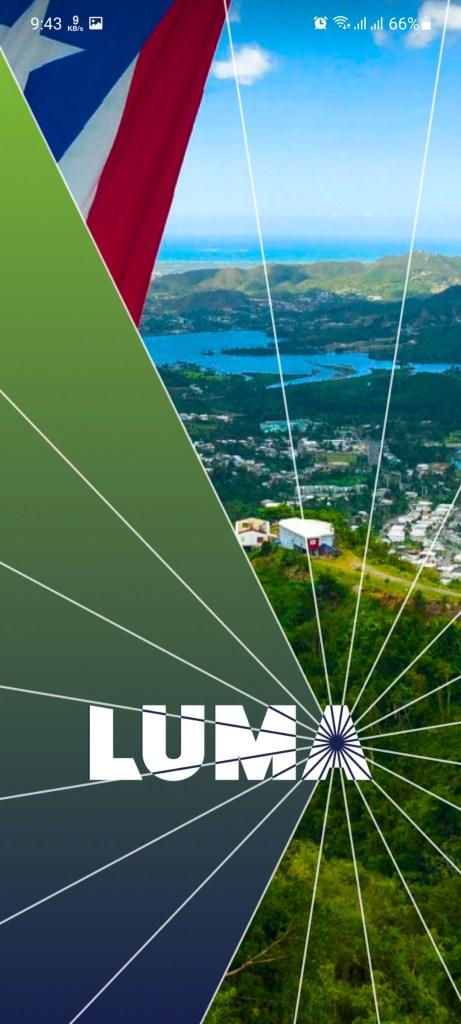 Screenshot of MI Luma