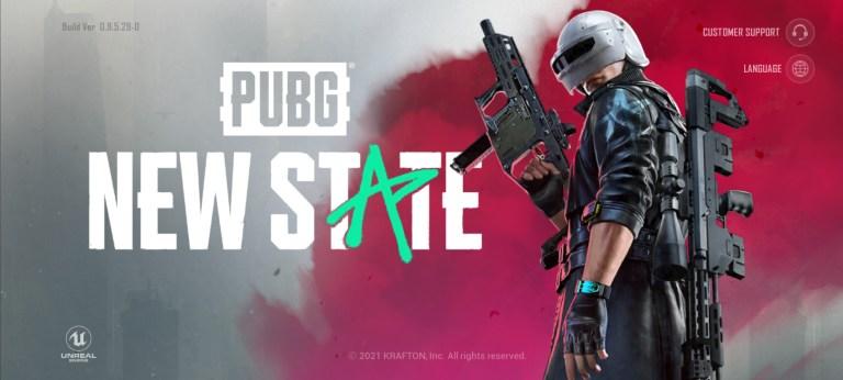 Screenshot of PUBG New State Alpha Test Apk