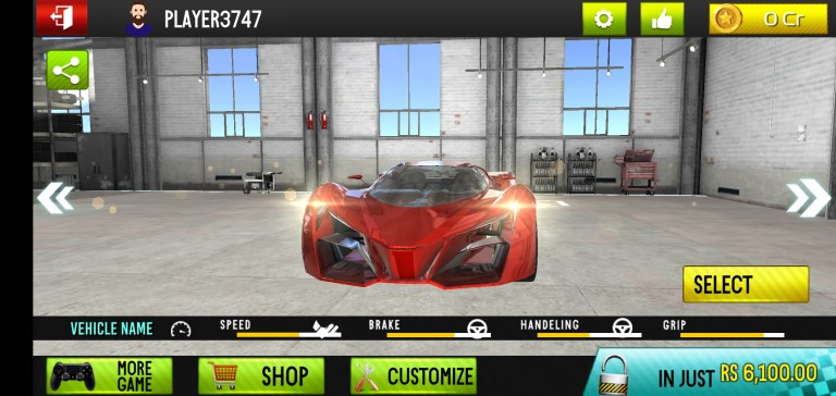 Screenshot of Racing in Car 2021 Mod Game