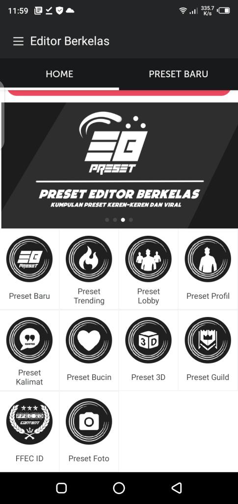 Screenshot of Apk Editor Berkelas App