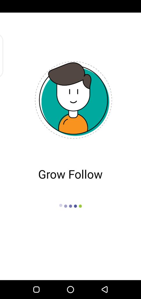 Screenshot of Grow Follow