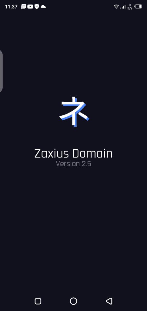 Screenshot of Zaxius Domain Injector
