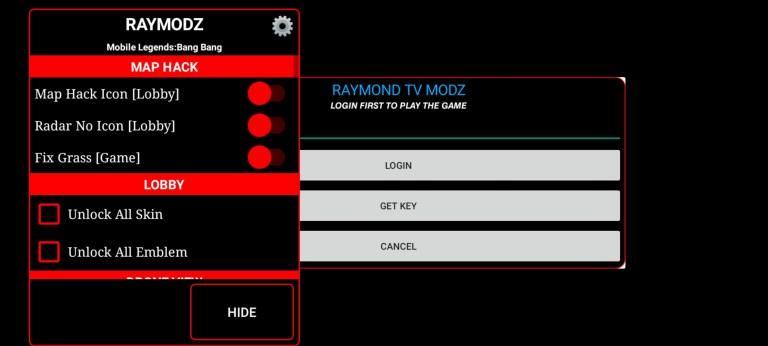 Screens of Raymond TV Modz