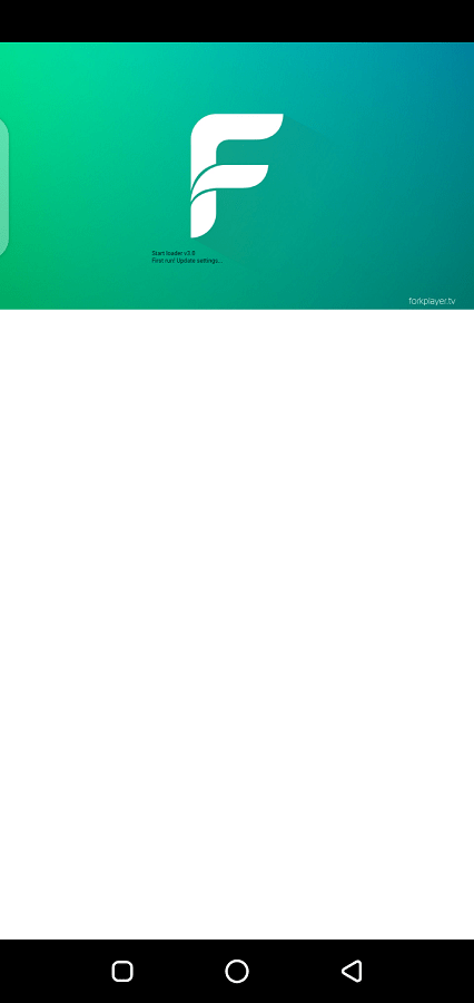 Screenshot of ForkPlayer App Apk